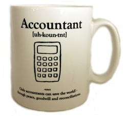 Accountant Definition Mug Reconciliation