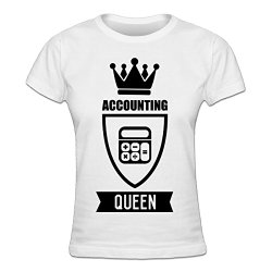 Accounting Queen Ladies Shirt