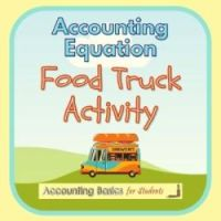 Accounting Equation Food Truck Activity product page
